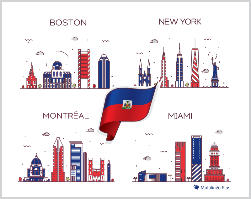 Boston, Miami, New York and Montréal are home to large Haitian communities